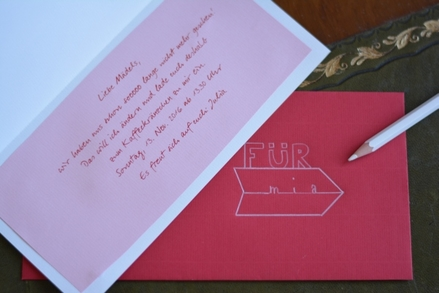 Schön Einladungskarte, Einladung Zum Kaffeklatsch, Handlettering